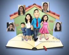 Tema igreja e familia