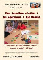 xerrada matemàtiques als pares febrer 2015
