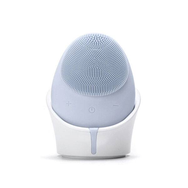 Silicone Sonic Vibration Deep Cleaning Facial Wireless Massager