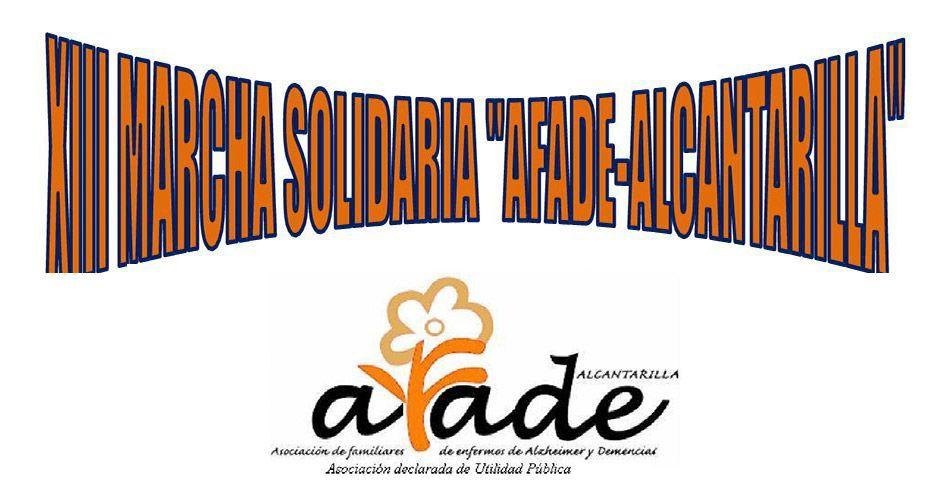 """XIII Marcha Solidaria """"Por el Alzheimer"""""""