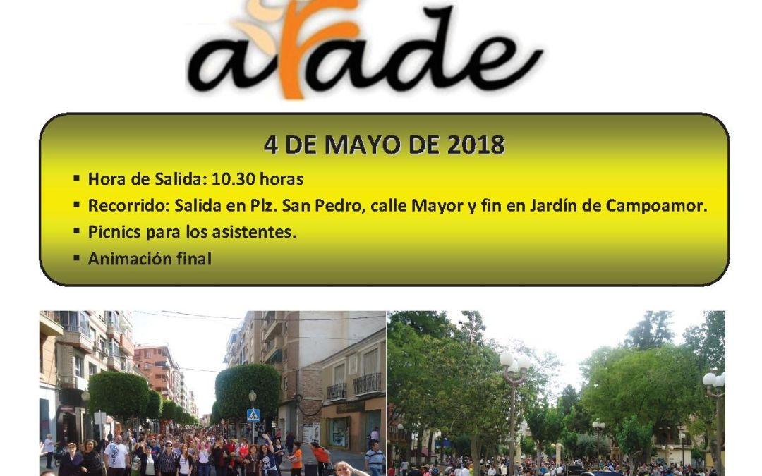 """Marcha Solidaria """"Por el Alzheimer 2018"""""""