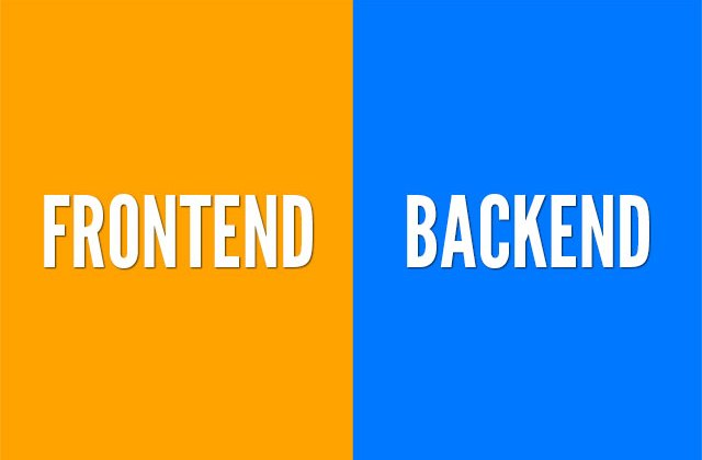 Fontend dan Backend