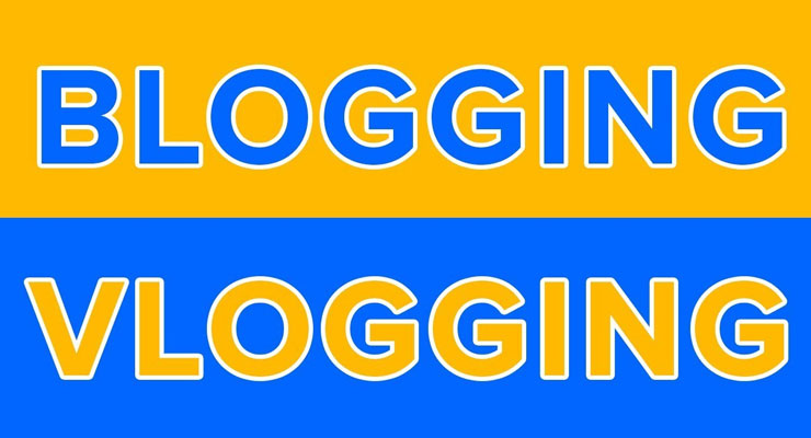 Blogging atau Vlogging