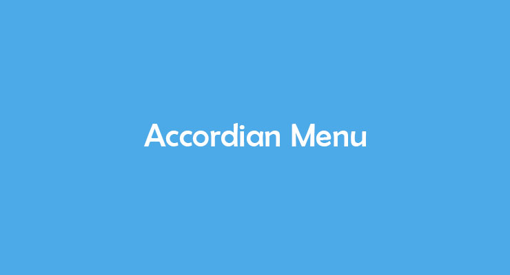 Cara Membuat Accordian Menu Sederhana