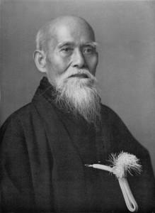 El fundador del Aikido, Morihei Ueshiba