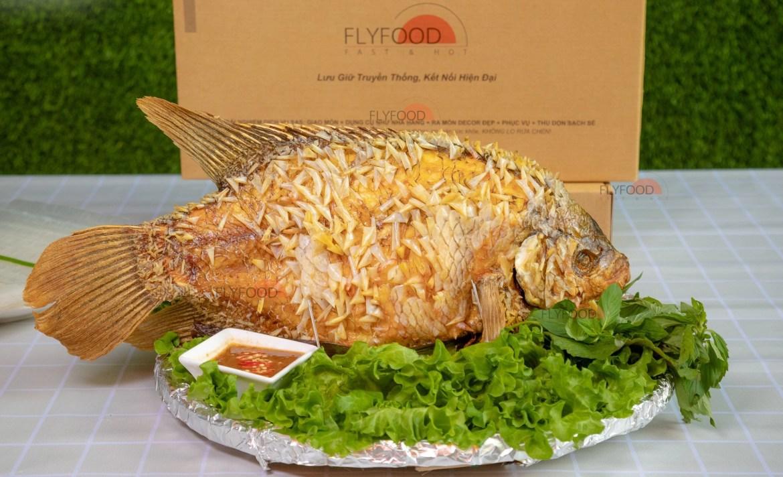 Cá tai tượng bông xù- sự độc đáo riêng biệt của Flyfood - Ảnh 1.