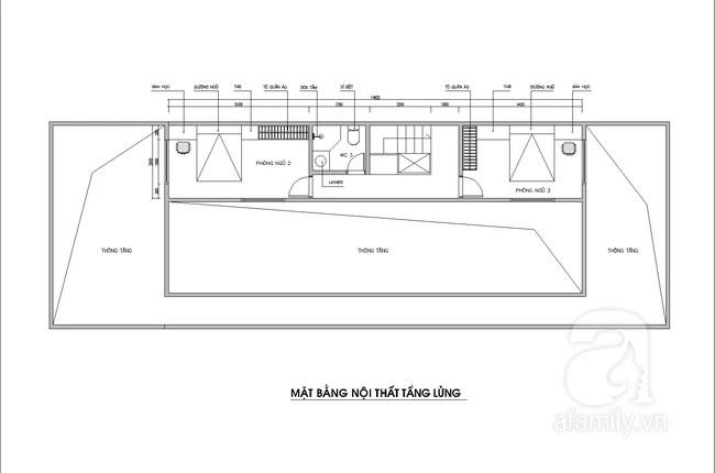 Tư vấn thiết kế căn nhà 7x20m ở vùng thôn quê với chi phí 200 triệu đồng - Ảnh 3.