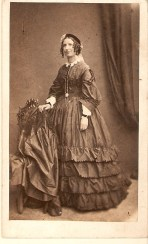 Margaret JOHNSTON (m. WALKER), standing