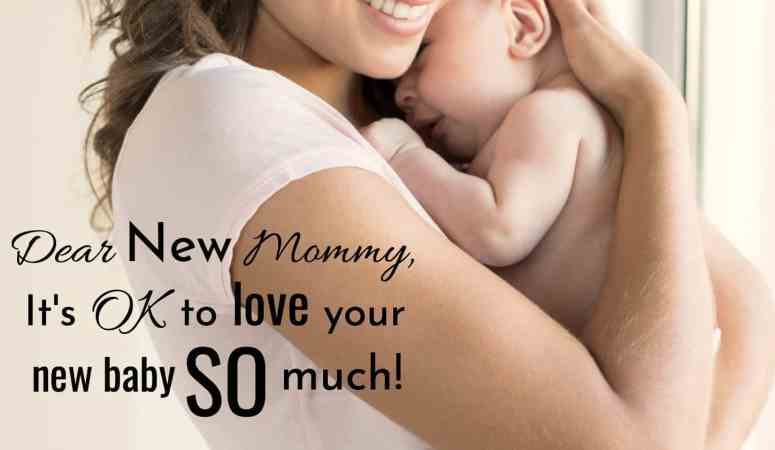 It's OK to love your baby SO much.
