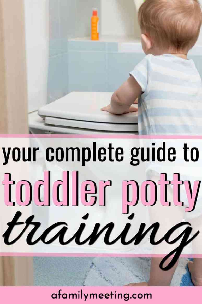 Everything You Ever Wanted to Know About Potty Training Your Toddler. Do you need a chart or a schedule or rewards when toilet training a 2-year-old boy or girl? I potty trained 4 children before their second birthday, but I couldn't have done it without this! #pottytraining #pottytrainingtips #toddlerpottytraining #toilettraining #pottytrain #pottytrainingboys #pottytraininggirls #pottytrainingideas