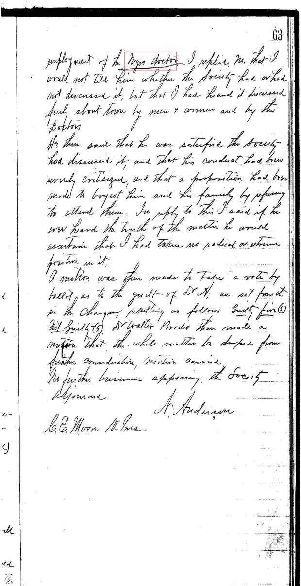 Wilson Co Med Soc Minutes re Black Quack Doctor_Page_07