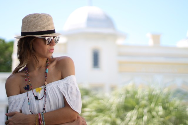 a fancy affair | a fancy affair blog | beach | amanda tur | tassel necklace