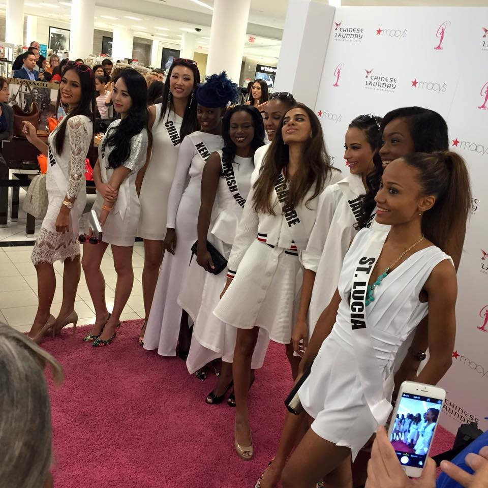 amanda tur, miami fashion blogger, acts and chinese laundry event, macys,spring 2015 collection, miss universe 2014 contestants, Doral, miss universe, amanda tur, miami fashion blogger, floral for spring 2015, florals