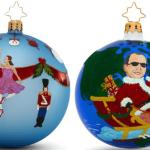 Kelly Ripa and Matt Lauer Christopher Radko ornaments