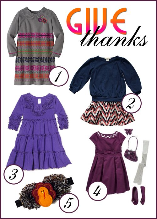 Thanksgiving Day Outfits for Girls