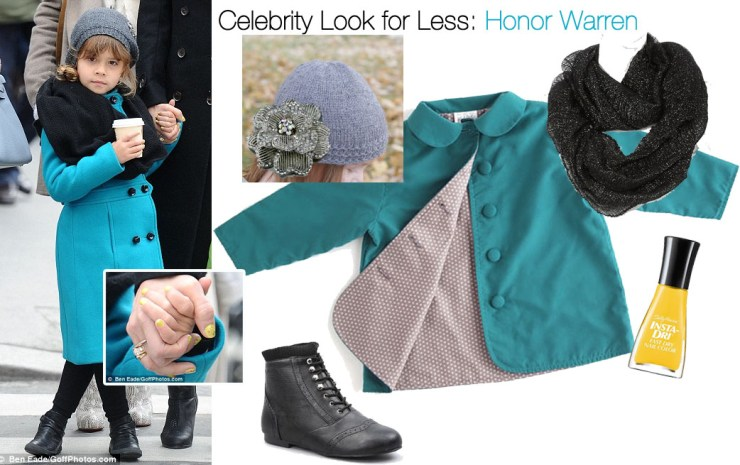 Celebrity Look for Less: Honor Warren (updated for Spring)