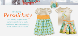 Persnickety Clothing at CWDKids