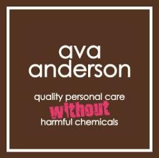 Ava Anderson Non-Toxic Makeup Logo