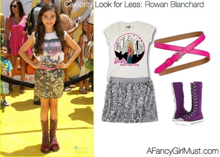 Celebrity Look for Less: Rowan Blanchard of Girl Meets World  | AFancyGirlMust.com