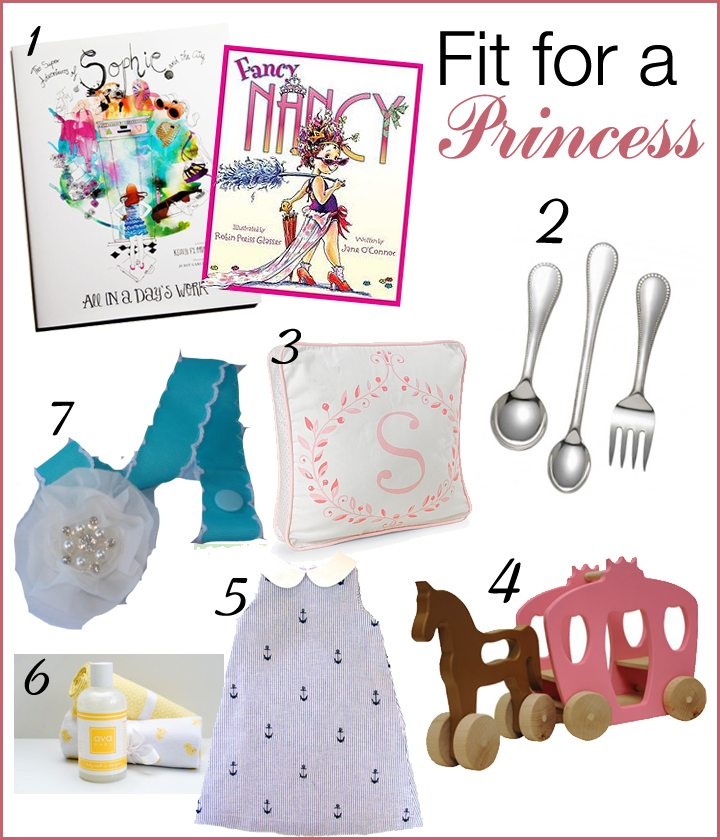 Royal Baby Gift Ideas (If it's a princess) | AFancyGirlMust.com