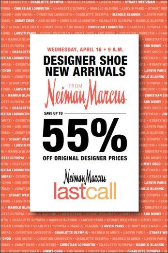 Neiman Marcus Last Call Designer Shoe Arrival Event