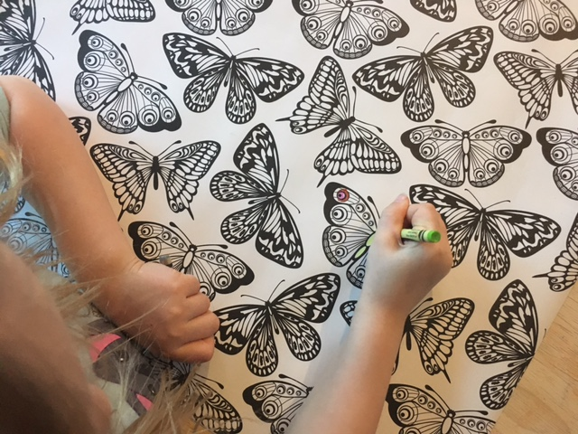Friday Fresh Picks: Color Your Own Wrapping Paper