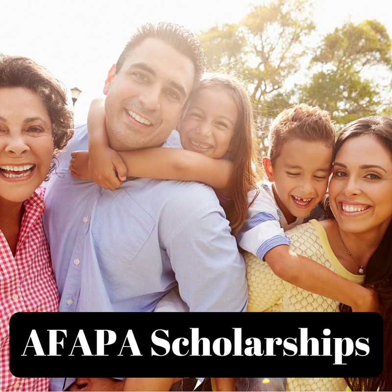 AFAPA Scholarships
