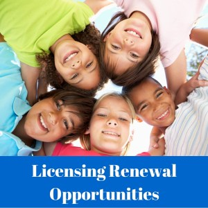 Renewal training opportunities