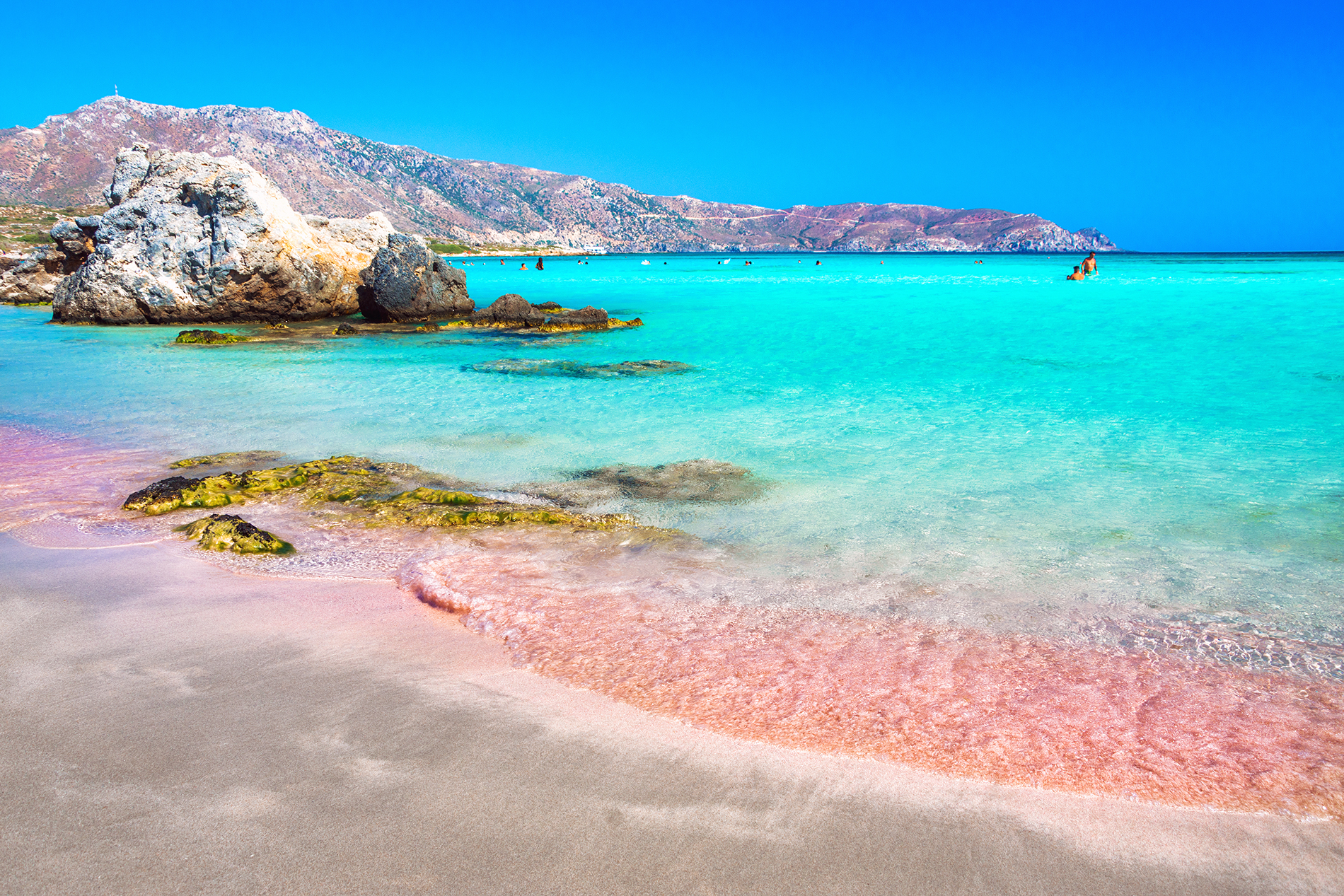 The beach stretches nearly the length of the island. The Best Pink Sand Beaches Around The World