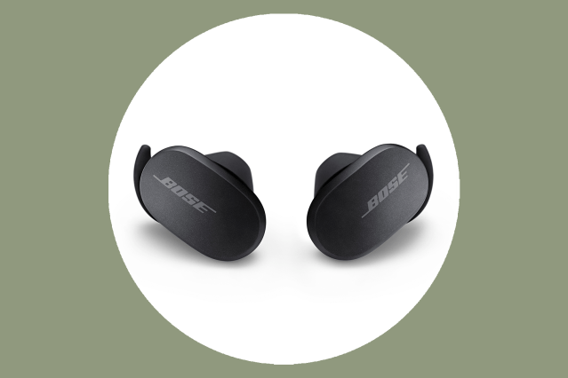 These noise canceling earbuds deliver high-quality sound in a small package.