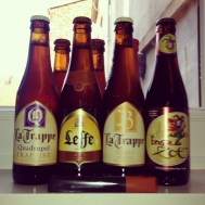 Only around 1.20 euro a bottle. nothing less than 6.5% (one is 10%)