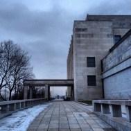 National Monument on Vitkov Hill. Brutally grim but impressive.