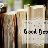 What to Learn from Good Books {A Writer's Guide}