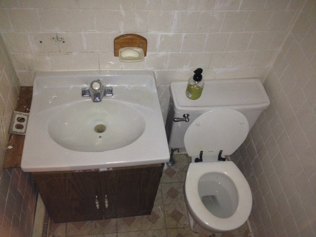 Replacing The Bathroom Sink – Part 1
