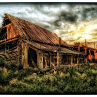 OLD BARN AT TRAMPAS