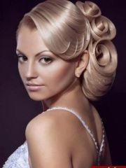 beautiful party hairstyle