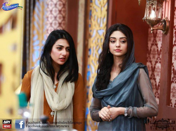 Recently Photoshoot Of Handsome Sisters Sarah Khan And