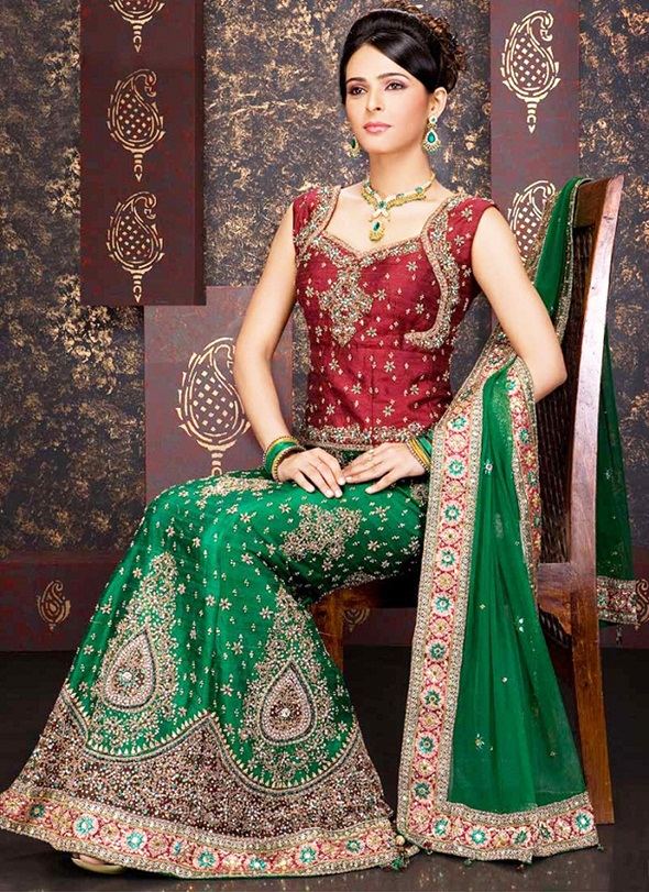Madhurima Hd Wallpaper Latest New Pakistani Bridal Lehenga Dresses Collection