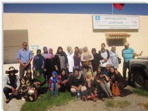 1450-300x225 عضوات تعاونيات وجمعيات تربية الماعز وإنتاج الأجبان بسوس في زيارة لمنطقة شفشاون فلاحة