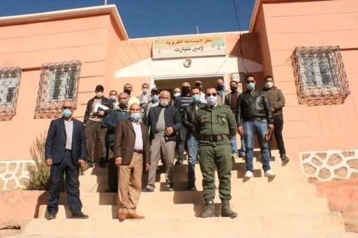 5656 النحيت : انطلاق أشغال بناء الطريق الرابط بين  مركز جماعة إمي نتيارت  ومركز جماعة النحيت إداوزدوت