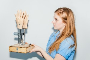 Simone Giertz of Shitty Robot Nation