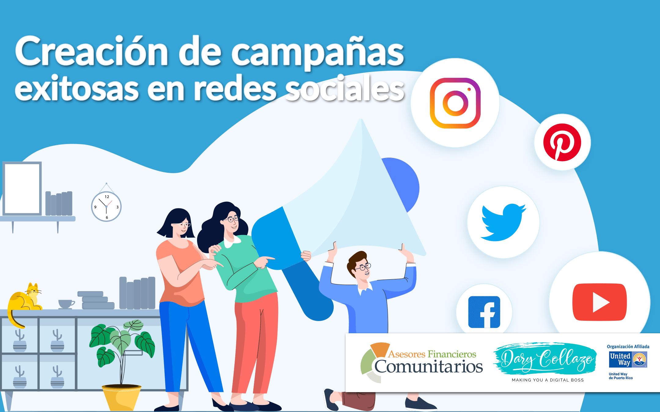 Creación de campañas exitosas en redes sociales