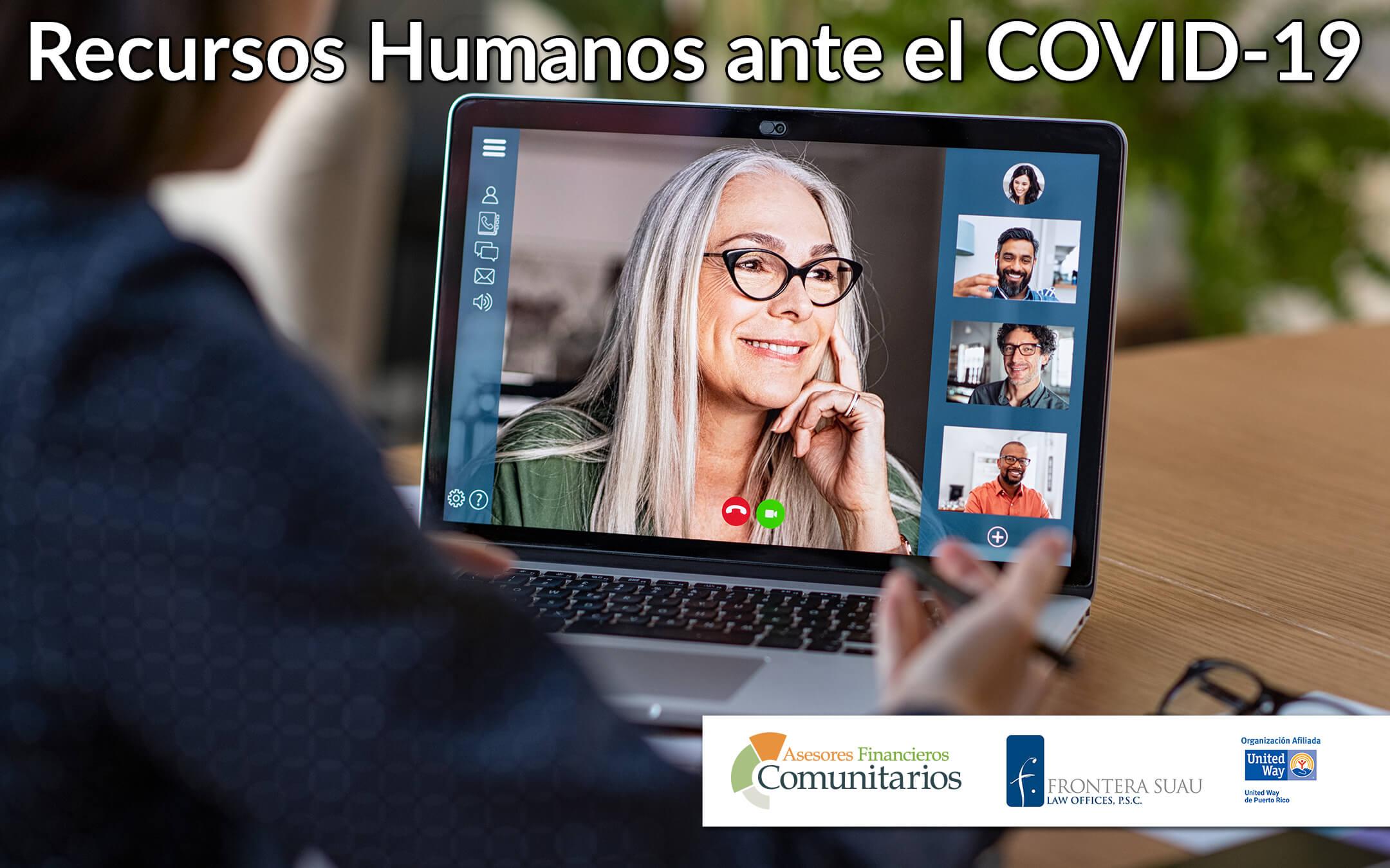 Recursos Humanos ante el COVID-19