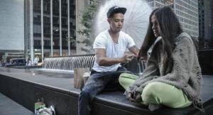Bustos compartió en las redes la historia de Ashley, indigente de 24 años