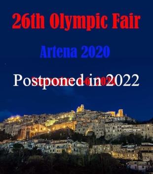Foire Mondiale des Collectionneurs Olympiques Artena (Italie)