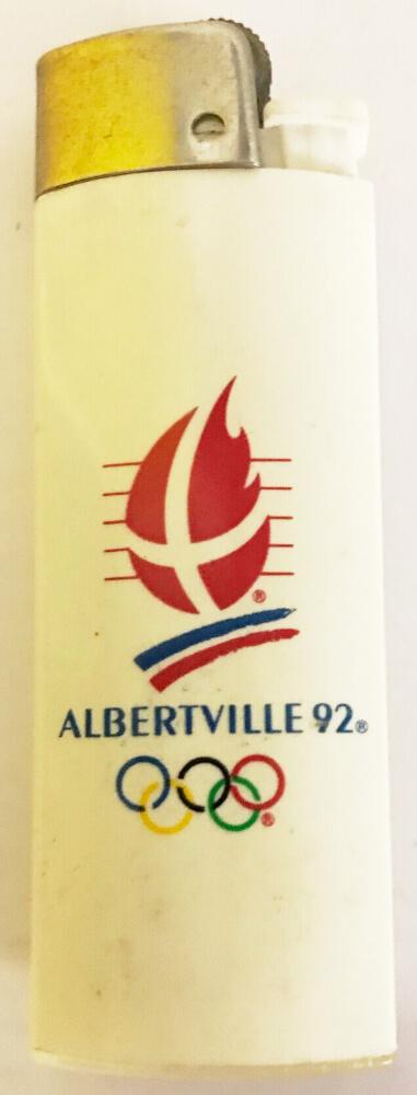 Albertville 1992 logo briquet