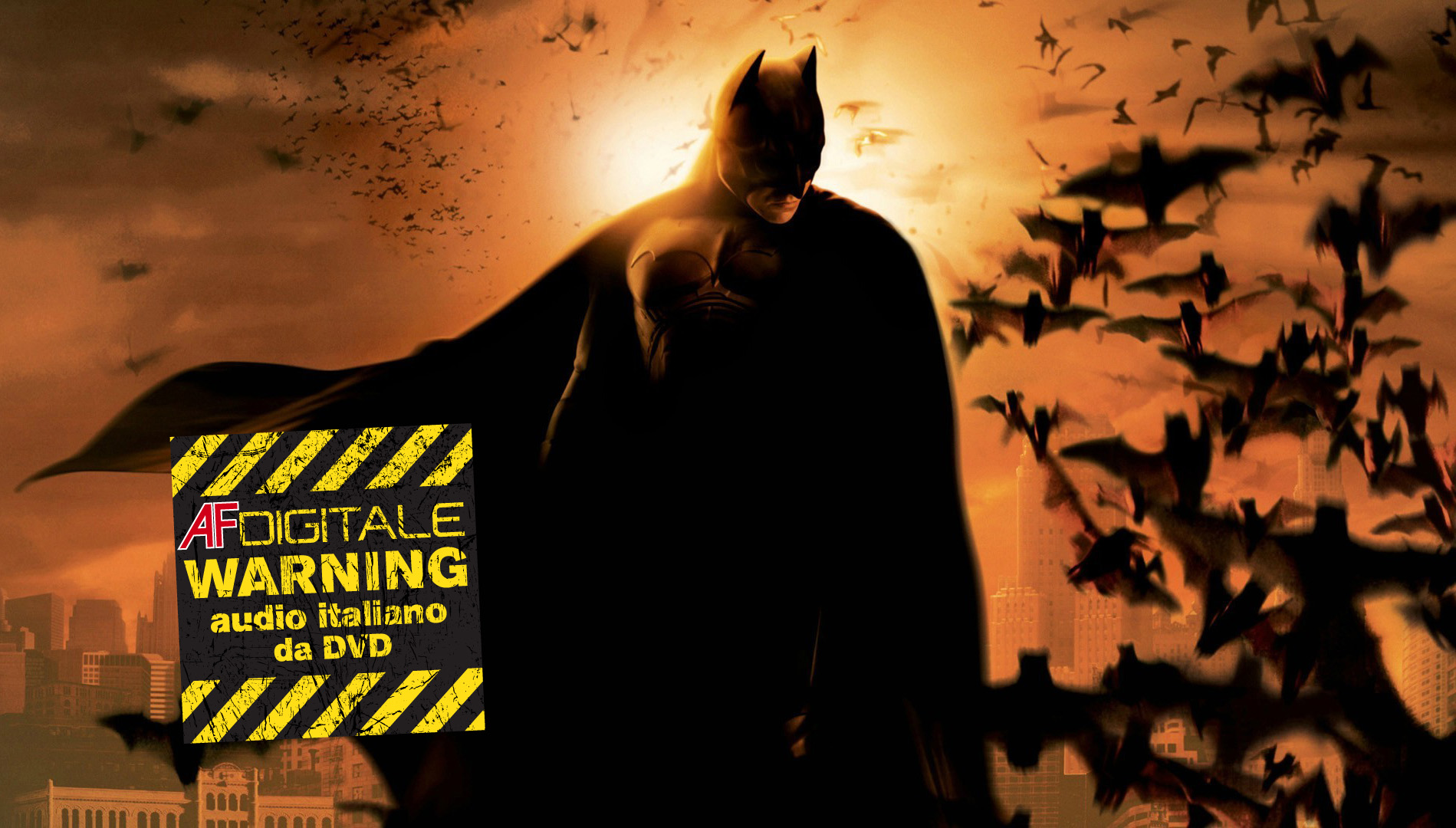 Batman Begins UHD  AF Digitale