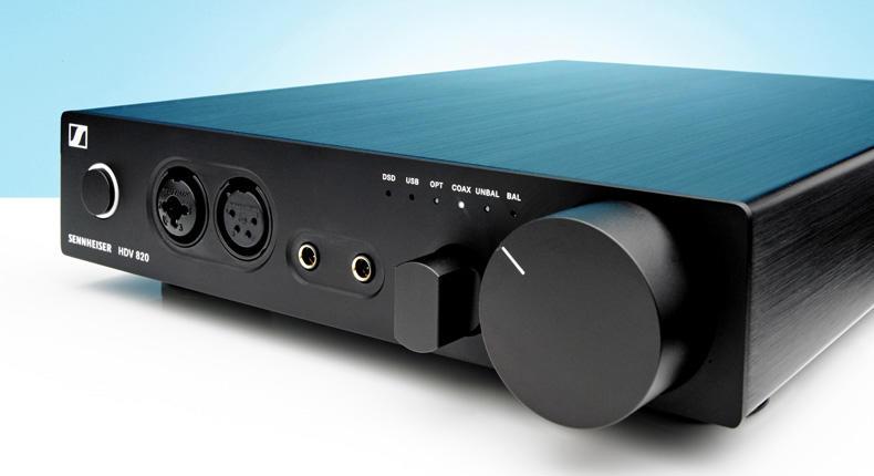 Sennheiser HDV 820: il DAC che fa anche da preamplificatore
