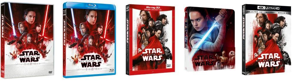 Star Wars - Gli ultimi Jedi in Ultra HD dall'11 aprile