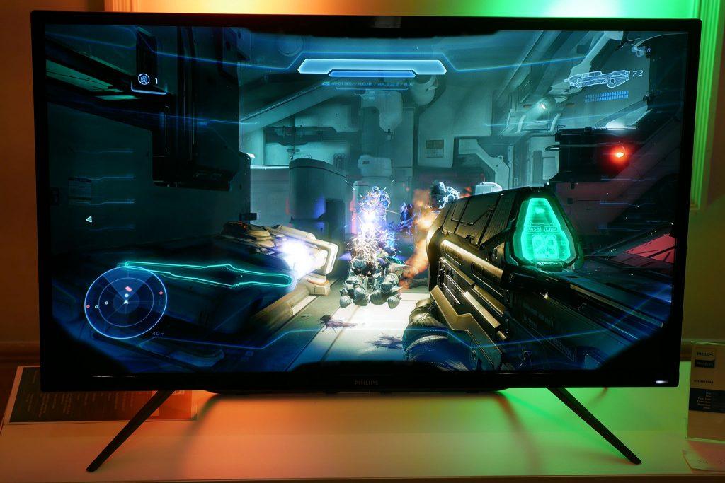Philips 436M6VBPAB: il monitor gaming 4K-HDR da un metro di diagonale
